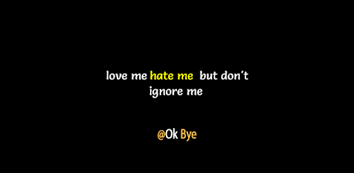 Image of: Sad Love Okbye One Line Status Google Play Okbye One Line Status Apps On Google Play