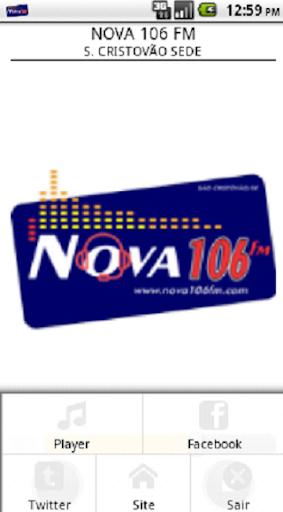 NOVA 106 FM - S. CRISTÓVÃO SEDE 1.4.7 screenshots 1