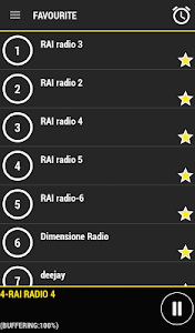 Radio Italia screenshot 1