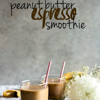 Peanut Butter Espresso Smoothie.