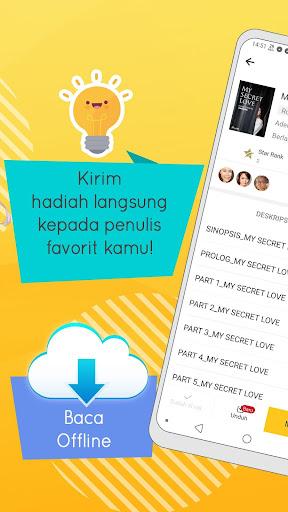 NovelMe - Baca webnovel dan love story tiap hari 2.8.0.0 screenshots 2