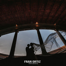 Wedding photographer Fran Ortiz (franortiz). Photo of 07.10.2016
