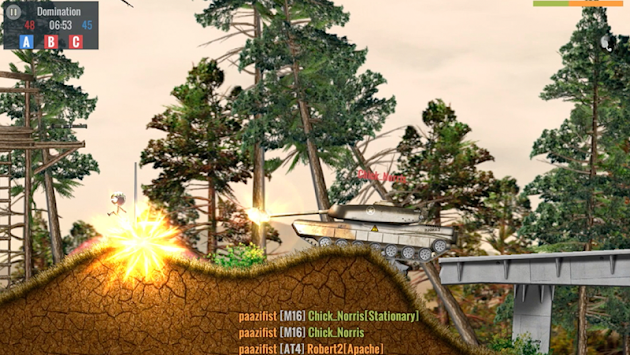 Stickman Battlefields apk screenshot