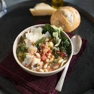 Ribollita Tuscan Vegetable Soup.