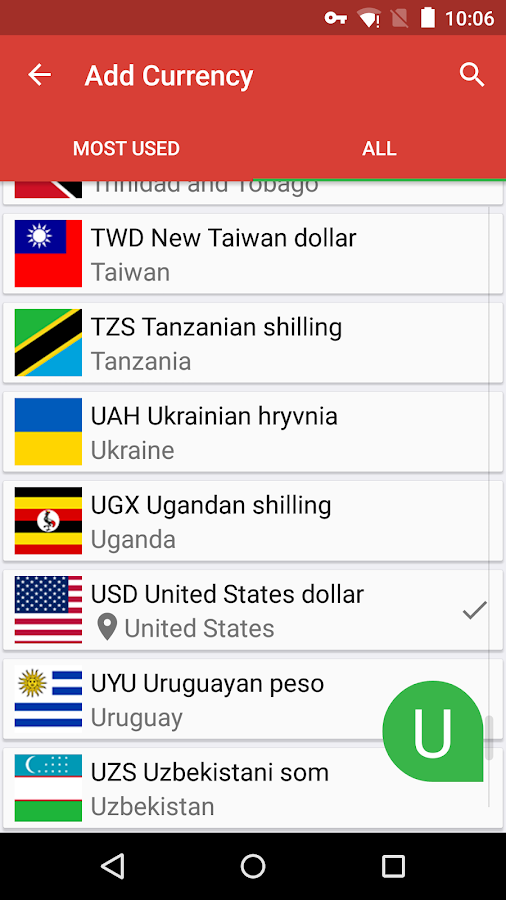 Currency Lite (Real-Time)- screenshot