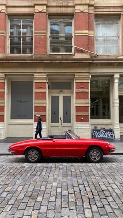 1969 Alfa Romeo Duetto Veloce Hire New York