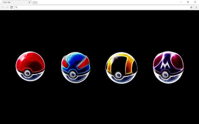 Pokemon New Tab & Themes