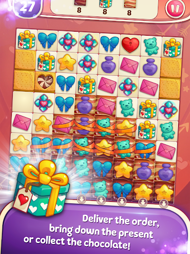 Sweet Hearts - Cute Candy Match 3 Puzzle  screenshots 9