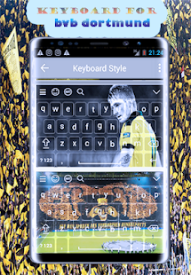 New keyboard for Borussia Dortmund - náhled