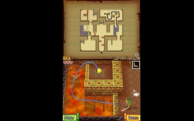 Legend of Zelda Phantom Hourglass Game