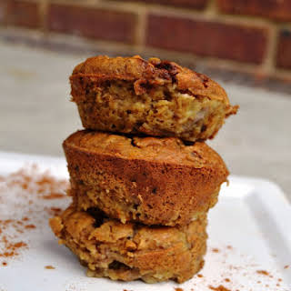 Banana Bread Protein Muffins.