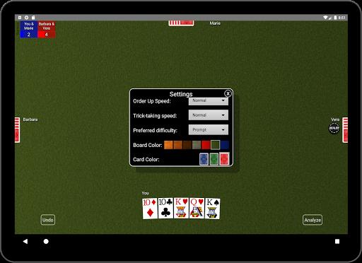 Euchre Card Classic 1.1 screenshots 16