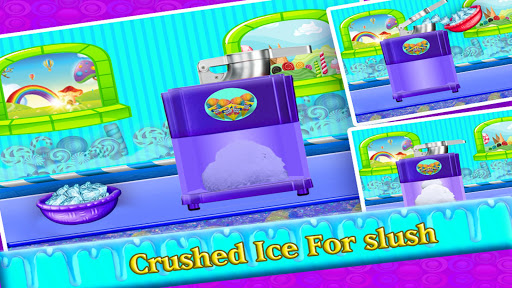 DIY Rainbow Slush Maker - Ice Food  screenshots 2