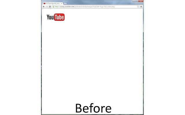 Centered Image Files for Chrome