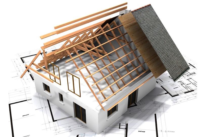 Konstrukcja dachu taniego w budowie