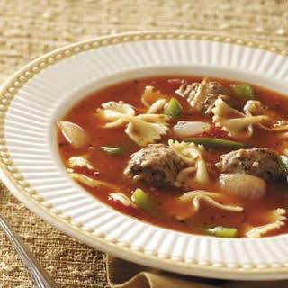 Pasta/Sausage Soup.