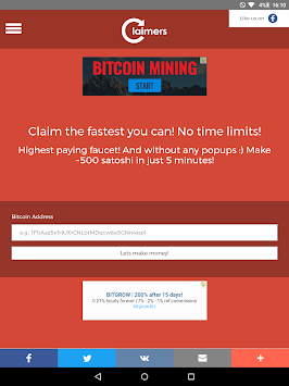 Download Claimers - Free BTC APK latest version app for android devices