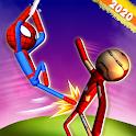 Stick Teen Age Boy vs SuperHero : Streetfight icon