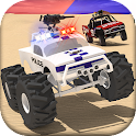Police Offroad Chase Truck icon