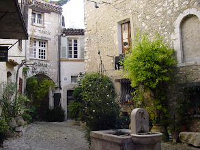 Photo: Picturesque squares and nooks are everywhere.