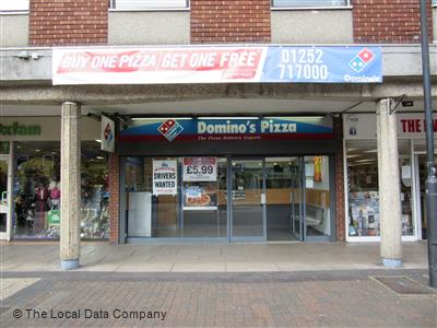 Dominos Pizza On East Street Pizza Takeaway In Town
