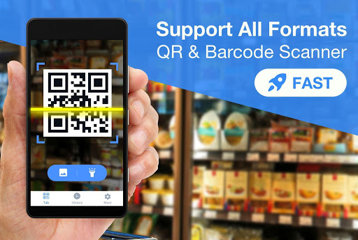 Free QR Scanner - Barcode Scanner, QR Code Reader screenshots 1