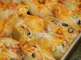 Mexican Stuffed Pasta Shells Recipe