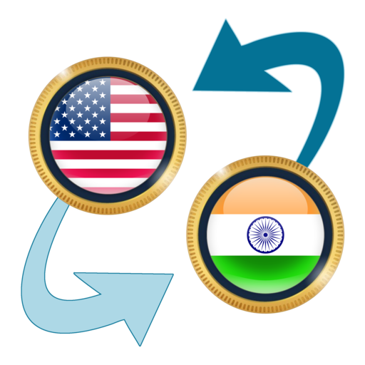 US Dollar to Indian Rupee (app)