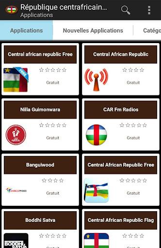 Applications -Afrique centrale