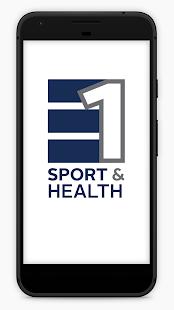 E1 Sport and Health - náhled