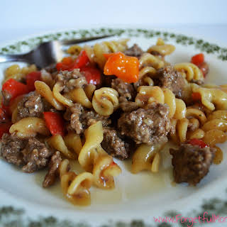 Skillet Mac and Beef.