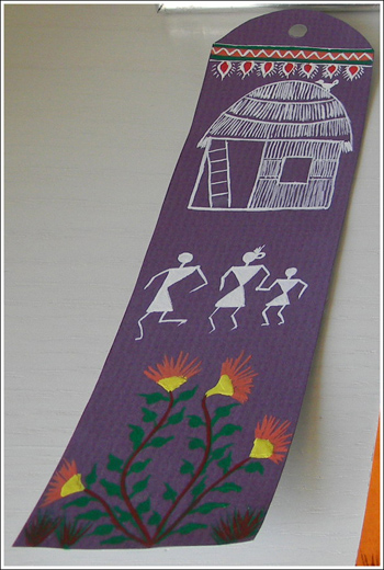 Warli bookmark