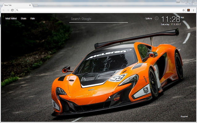 Mclaren Wallpaper HD Sports Cars Theme