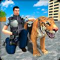 Police Tiger Chase Simulator: City Crime