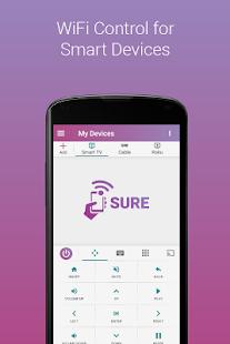 App SURE Universal Smart TV Remote APK for Windows Phone