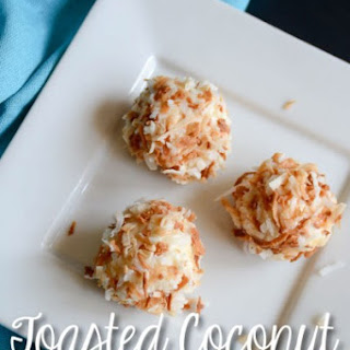 Toasted Coconut Key Lime Truffles