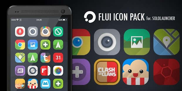 FLUI Free Icon Pack Screenshot