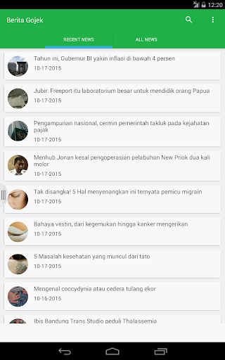 Berita GO-JEK NEW 3.1.0 screenshots 4