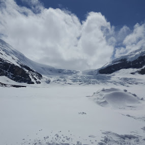 by Riddhima Chandra - Landscapes Travel ( mountains, canada, white, snow, travel,  )