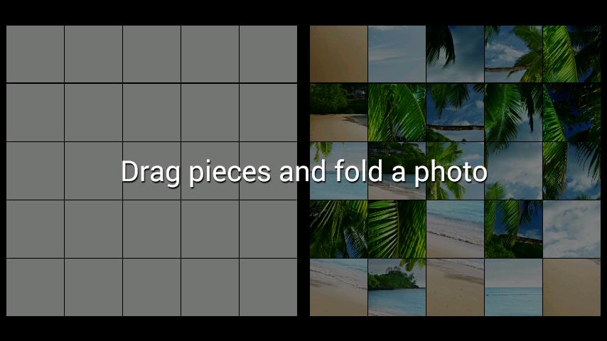 android Beach LWP + Jigsaw Puzzle Screenshot 1