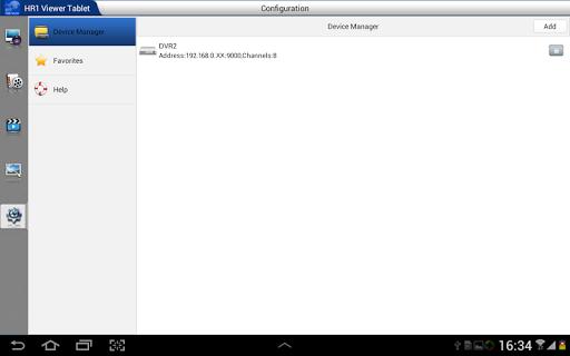 HR1 Viewer Tablet