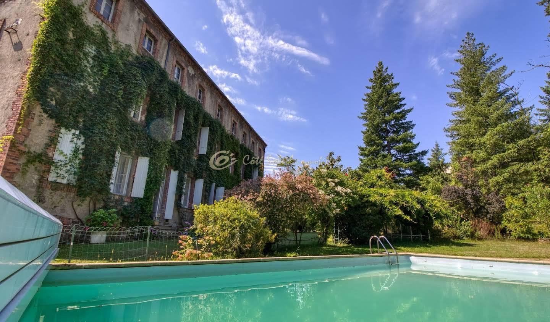 Propriété avec piscine Chamborigaud