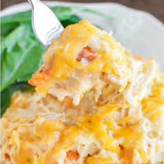Easy Cheesy Crockpot Chicken.