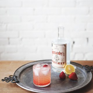 Strawberry Lemon White Whiskey Collins Recipe