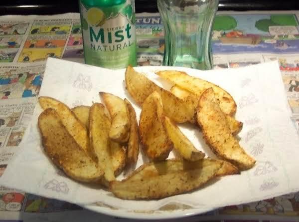Lemon Lime  Joe Joe's  (baked Potato Wedges)