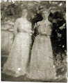 Photo: Jayne B. Kerr and Clara Schwenacke, May 1902.  Marshall, Illinois.