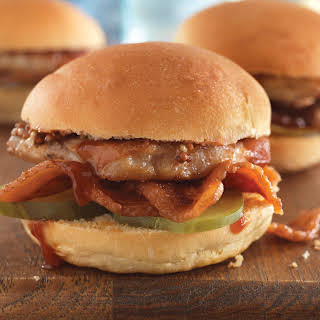 Double Pork Party Sliders.
