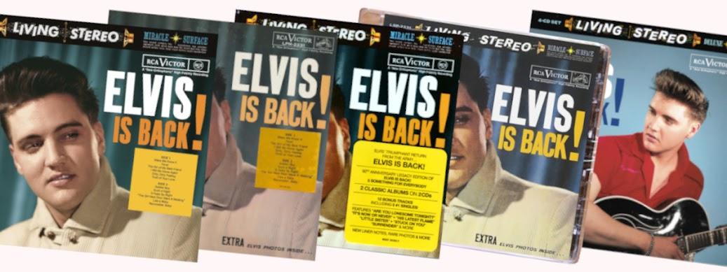 Elvis Is Back! -banneri