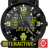 PiKA Robot digital Watch Face