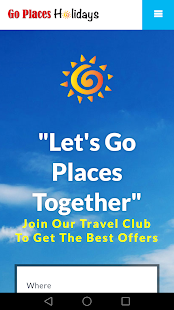 Go Places Holidays- Mobile- screenshot thumbnail